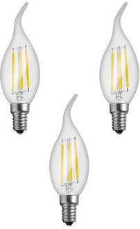 Imperial 16162 4W E14 LED Filament Bulb (White, Pack Of 3) Price in India