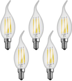 Imperial 16162 4W E14 LED Filament Bulb (White, Pack Of 5) Price in India