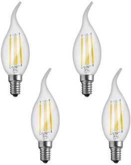 Imperial 16162 4W E14 LED Filament Bulb (White, Pack Of 4)  Price in India