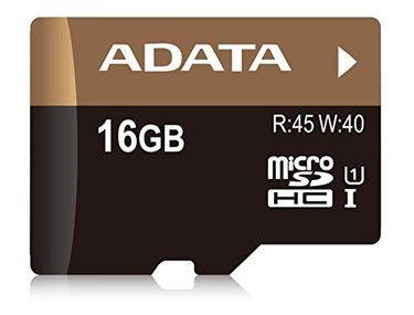 AData Premier Pro 16GB MicroSDHC UHS-1/U1 (45MB/s) Memory Card (With Adapter) Price in India