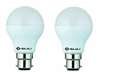 Bajaj 7W B22 LED Bulb (Warm White, Pack Of 2) Price in India