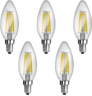 Imperial JP02 4W E14 LED Filament Bulb (White, Pack Of 5) Price in India