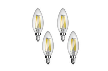 Imperial 16166 JP02 4W E14 LED Filament Bulb (White, Pack Of 4) Price in India