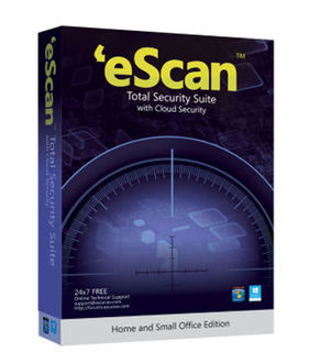 eScan Total Security Suite With Cloud Security 10 Users 1 Year Price in India