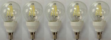 Origin 9W E14 LED Bulb (Yellow, Pack of 5) Price in India