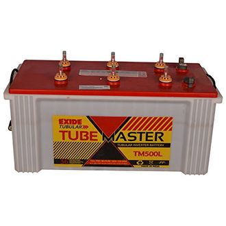 Exide Tube Master TM 500L Tubular Battery Price in India