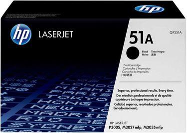 HP 51A (Q7551A )  Black LaserJet Toner Cartridge Price in India