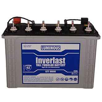 Luminous ILTT 18000 Inverlast Tall Tubular Battery Price in India