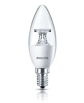 Philips 4.5W E14 LED Bulb (Warm White, Pack Of 2) Price in India