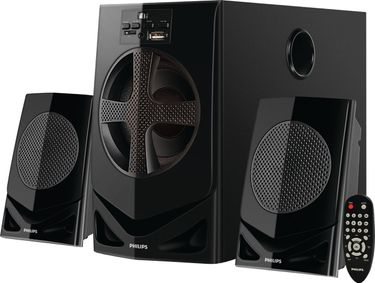 Philips IN-MMS2030F/94 2.1 Multimedia Speakers Price in India