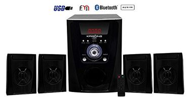 Krisons Polo 4.1 Channel Speakers (With Bluetooth) Price in India