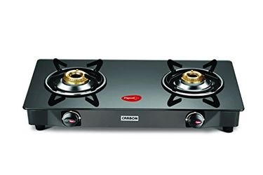 Pigeon Carbon Manual Ignition Gas Cooktop (2 Burner) Price in India