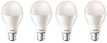 Philips Stellar Bright 20W B22 LED Bulb (Cool Day Light, Pack Of 4) Price in India