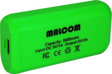 Malcom 5600mAh Power Bank Price in India