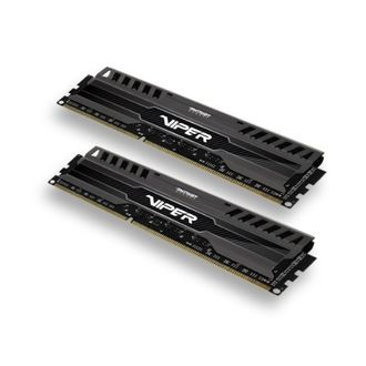 Patriot Viper 3 (PV38G160C9K) Black Mamba 8GB (2 x 4GB) DDR3 Ram Price in India