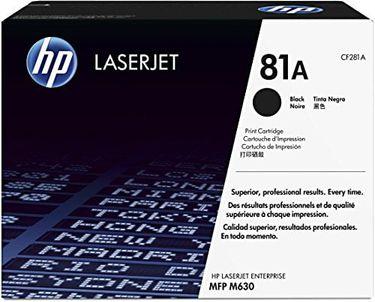 HP 81A (CF281A) Black LaserJet Toner Cartridge Price in India