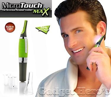 Gadget Hero's Micro Touch Max Nose, Ear, Facial, Eyebrows Hair Trimmer Price in India