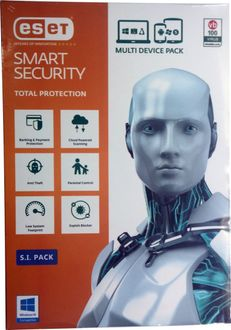 Eset Smart Security Version 9 5PC 1Year (Multi Device Pack) Price in India