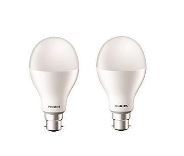 Philips Stellar Bright 20W LED Bulb (Cool Day Light, Pack of 2) Price in India
