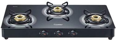 Prestige Royale Plus GT 03 Gas Cooktop (3 Burner) Price in India