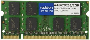 Addon (AA667D2S5) 2GB DDR2 (PC2 5300) Laptop Ram Price in India