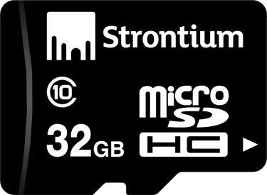 Strontium 32 GB MicroSDHC Class 10 (24MB/s) Memory Card Price in India
