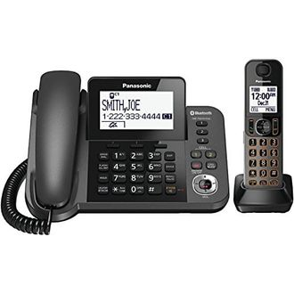 Panasonic KX-TGF380M Dect 6.0 1-Line Corded/Cordless Landline Phone with TAD Price in India