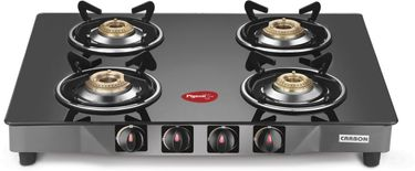 Pigeon Carbon 4 Burner Glass Gas Cooktop Price in India