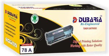Dubaria 78A / CE278A Black Toner Cartridge Price in India