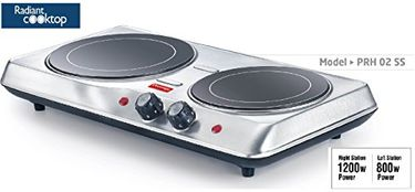 Prestige PRH 02 SS Radiant Cooktop Price in India