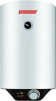 Spherehot Cylendro 10L Storage Water Geyser Price in India