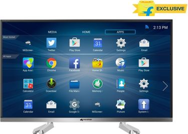 Micromax 32 CANVAS-S 32 Inch HD Ready Smart LED TV Price in India