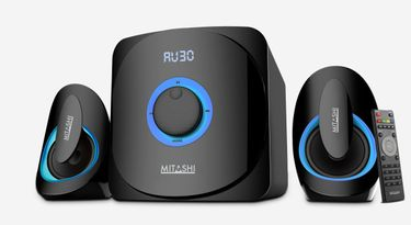 Mitashi HT 5060 BT 2.1 Channel Wireless Multimedia Speakers Price in India