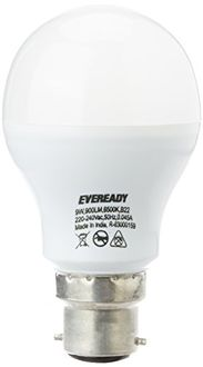 Eveready 9W B22 LED Bulb (White, Pack Of 4) Price in India