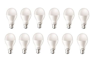 Philips Stellar Bright 20W B22 LED Bulb (Cool Day Light, Pack Of 12) Price in India