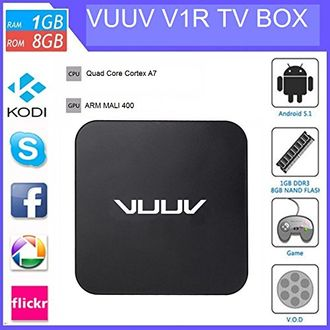 Vuuv V1 Android 5.1 Smart TV Box Price in India