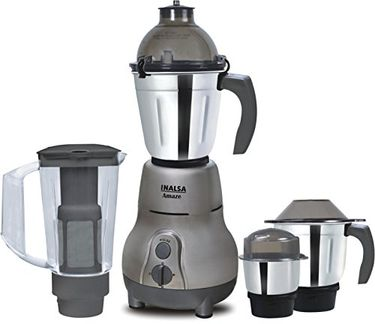 Inalsa Amaze 750W Mixer Grinder (4 Jars) Price in India