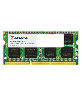 Adata AD3S1600W8G11-R 8GB DDR3 Laptop Ram Price in India