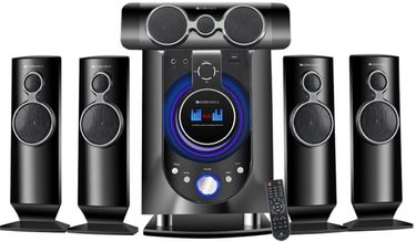 Zebronics Whale-BT RUCF 5.1 Multimedia Speakers Price in India