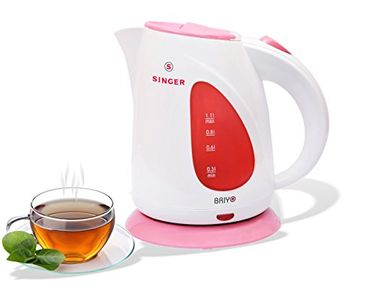 Singer Briyo 1.1L  Electric Kettle Price in India