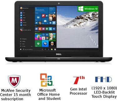 Dell Inspiron 5567 (Z563503SIN9) Notebook Price in India