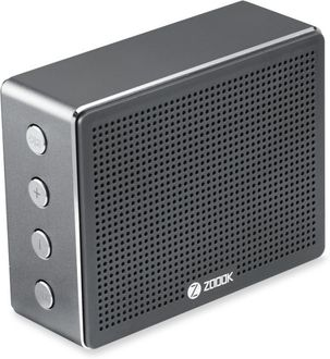 Zoook Rocker Chrome Metal Bluetooth Speaker Price in India