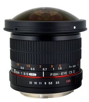 Rokinon HD8M-N 8mm f/3.5 HD Fisheye Lens (For Nikon) Price in India