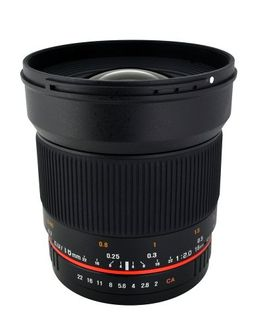 Rokinon 16M-M 16mm f/2.0 Aspherical Wide Angle Lens (For Canon M-Mount) Price in India