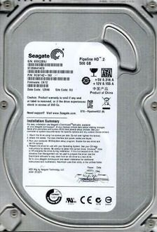 Seagate Pipeline HD (ST3500414CS) 500GB Internal Hard Drive Price in India