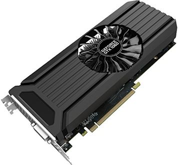 Palit NVIDIA GeForce GTX 1060 (NE51060015F9-1061D) 3GB GDDR5 Dual Fan Graphic Card Price in India