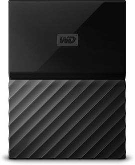 WD My Passport (WDBYNN0010B-WESN) 1TB Portable External Hard Drive Price in India