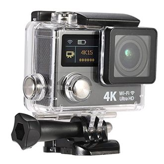 Mobilegear MG-SA204 4K Ultra HD WiFi Digital Action Camera Price in India