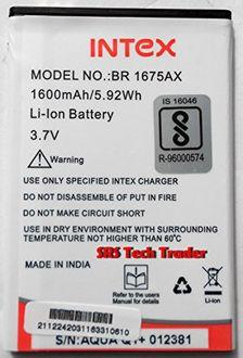 Intex BR-1675AX 1600mAh Battery (For Intex Aqua Q1 ) Price in India
