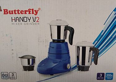 Butterfly Handy V2 550W Mixer Grinder (3 Jars) Price in India